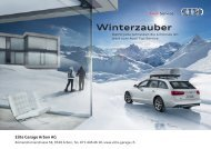 AUTO-WINTER 2011 Mailing - Audi - Elite Garage Arbon AG