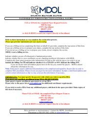 TRICARE WEST CONTRACT INSTRUCTIONS (SCWI0) - MD On-Line