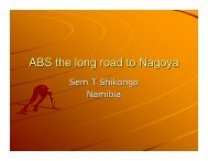 3 - Brief History of ABS, The Long Road to ABS - ABS Capacity ...