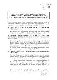 Realización de actividades deportivas - FMD - Fundación Municipal ...