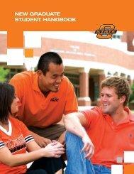 new graduate student handbook - Graduate College - Oklahoma ...