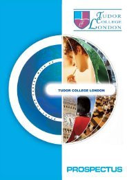 College Prospectus - Times Higher Education
