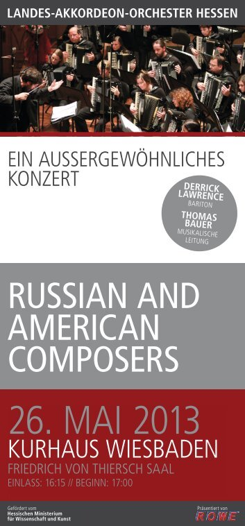26. MAI 2013 - Landes-Akkordeon-Orchester Hessen