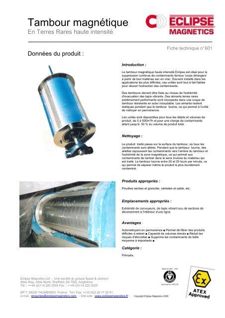 601_Drum Magnet - Eclipse Magnetics
