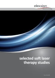 selected soft laser therapy studies - Rident