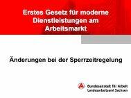 Änderungen bei der Sperrzeitregelung - Arbeitvermitteln.de