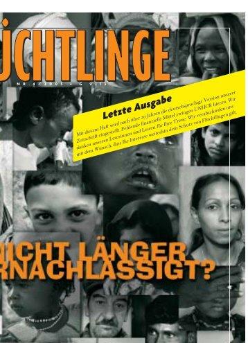 Letzte Ausgabe - UNHCR