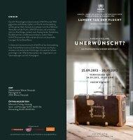 Ausstellung. - UNHCR