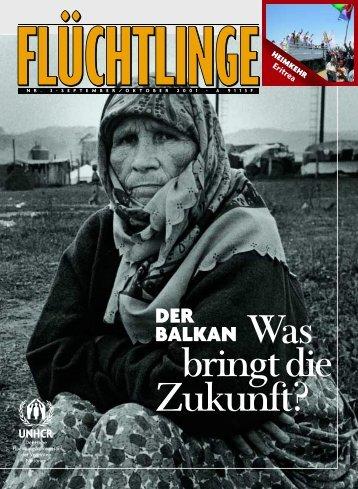 """Heft 3/2001: """"Der Balkan: Was bringt die Zukunft?"""" - UNHCR"""