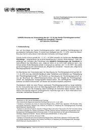 Hinweise zur Anwendung des Art. 1 C (5) - UNHCR