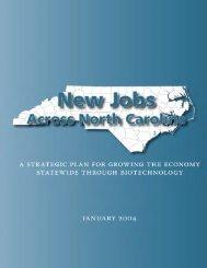 Strategic Plan v3 CXNS - North Carolina Biotechnology Center