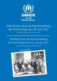 Genfer Flüchtlingskonvention - UNHCR