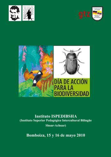 Instituto ISPEDIBSHA Bomboiza, 15 y 16 de mayo 2010