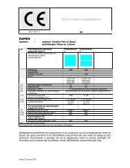 CE informatie Deceuninck NL2010 - Aevum Kozijnen