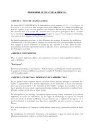 JEU CONCOURS PAUL & VIENNE - Règlement du jeu - Vienna