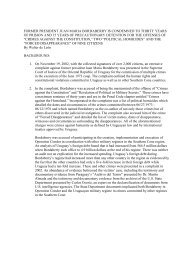 A summary containing highlights of the case written by lawyer Walter ...