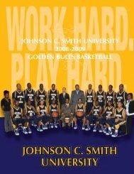 2008-09 Media Guide - Johnson C. Smith University Athletics