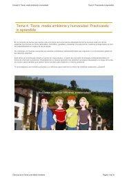 Tema 4. Tierra, medio ambiente y humanidad ... - aulAragon