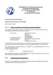FrühjahrsVV 2012 - Kreisjugendring Starnberg - Landkreis Starnberg