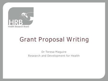 Steps to writing a successful grant proposal
