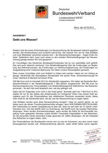 BundeswehrVerband - Foeg.de