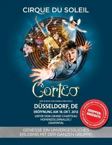 DÜSSELDORF, DE - Cirque du Soleil