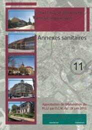 11. annexes sanitaires - Ville de Sarreguemines