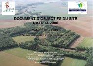DOCUMENT D'OBJECTIFS DU SITE NATURA 2000 - Accueil