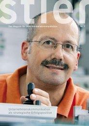 Unternehmenskommunikation als strategische Erfolgsposition - Stier ...
