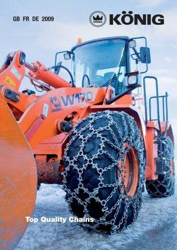 Tractor Véhicules déneigement Unimog - Schneeketten