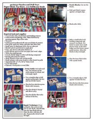 pc1is041-Puzzles and Pull-Toys Paper Minis Toy Store. 1:12 ...