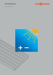 Sistemi Fotovoltaici Viessmann Vitovolt - Certened