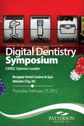 Digital Dentistry Symposium - Patterson Dental