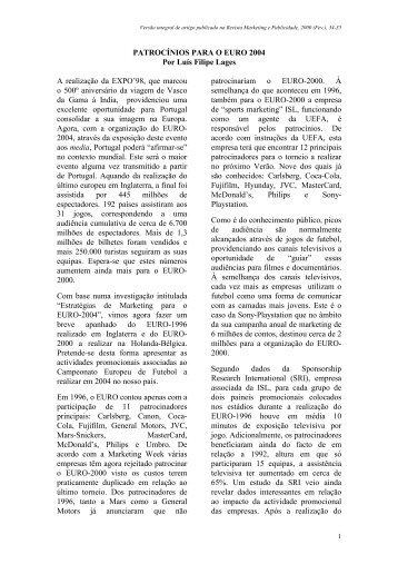 Artigo na Revista Marketing e Publicidade