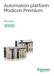 Automation platform Modicon Premium - Schneider Electric