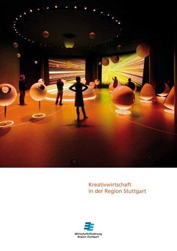 Kreativwirtschaft in der Region Stuttgart - Kreativregion Stuttgart