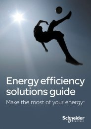 Make the most of your energy - Schneider Electric