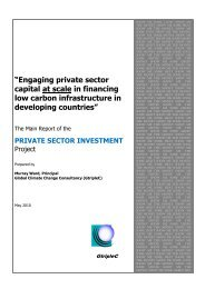 """Engaging private sector capital at scale in financing low ... - GtripleC"