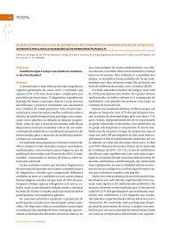 revisão sistemática do uso de antibióticos no tratamento da ...
