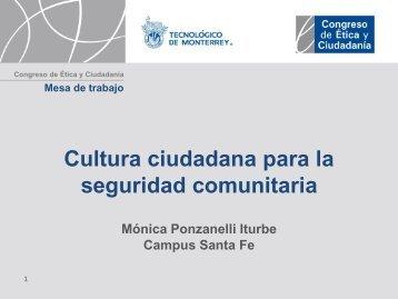 Cultura ciudadana para la seguridad comunitaria