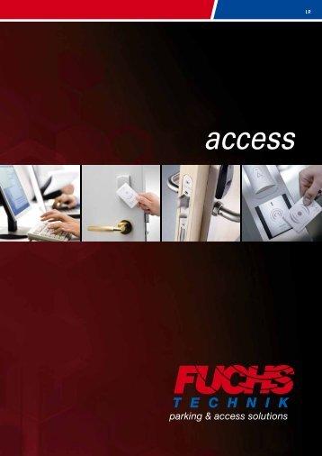 Prospekt ACCESS 2013 - Fuchs Technik