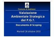 Presentazione_VAS_22-10-2010 - Comune di Sedriano