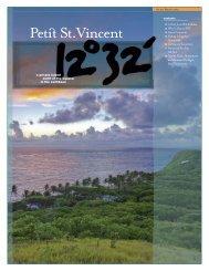 Download full pdf article (3MB)... - Petit St. Vincent Resort