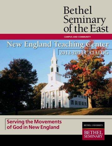 Bethel Seminary of the East - Bethel University