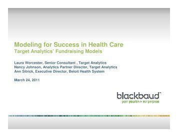 Target Analytics Fundraising Models for Healthcare 3-24-11 (2).pptx