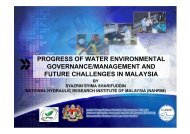 progress of water environmental governance/management ... - WEPA