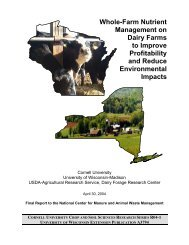 Whole-Farm Nutrient Management on Dairy Farms to Improve ...