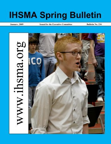 Spring Bulletin No. 234 - January 2009 - Iowa High School Music ...
