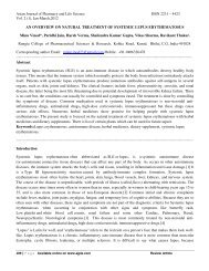 pathogenic - Asian Journal of Pharmacy and Life Science