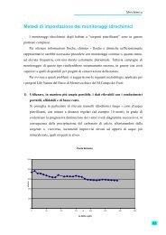 Metodi di impostazione dei monitoraggi idrochimici - Parco di ...